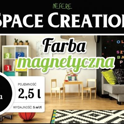 Nefere Farba magnetyczna Space Creation 2,5 litra N3104
